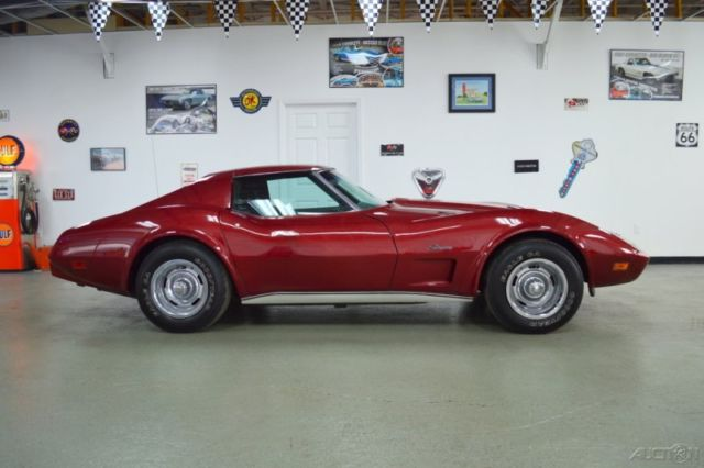 Chevy Corvette Dark Red Spd Only K Actual Miles
