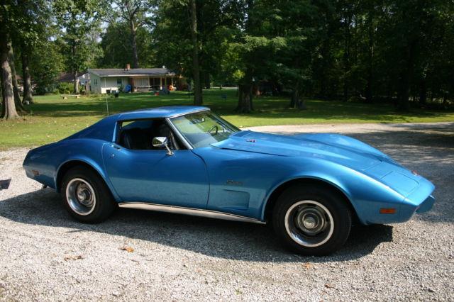 1975 Chevy Corvette Stingray L48 Original Engine Fresh