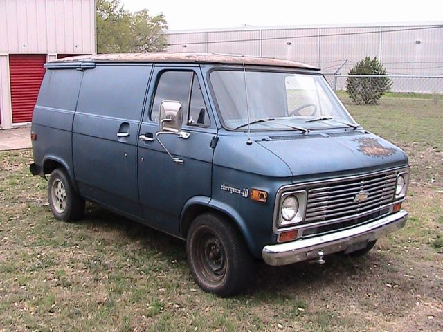 1975 chevy shorty g10 van classic chevrolet g20 van 1975 for sale. Black Bedroom Furniture Sets. Home Design Ideas