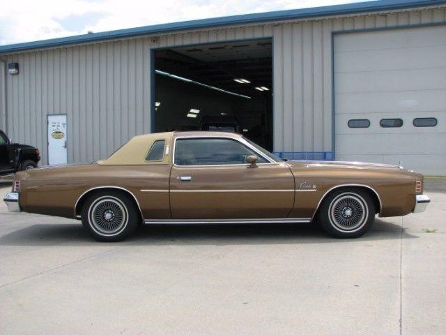 1975 Chrysler Cordoba Coupe 13700 Miles Brown 360