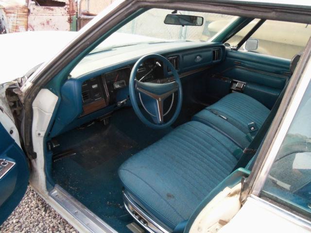 1975 Chrysler New Yorker Brougham 4 Door Hardtop Running