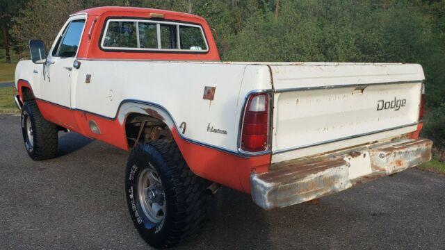 1975 Dodge 200 4x4 Adventurer Pickup 1974 1978 Ram Mopar Truck Power Wagon Classic Dodge Other Pickups 1975 For Sale