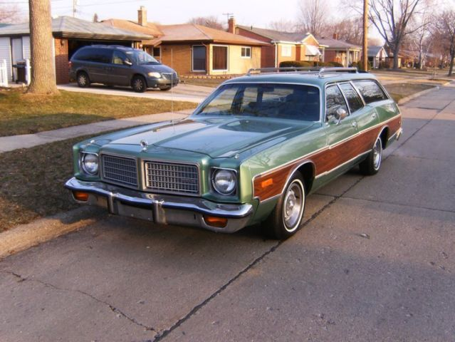 1975 Dodge Coronet Crestwood Station Wagon Restored Rare 1