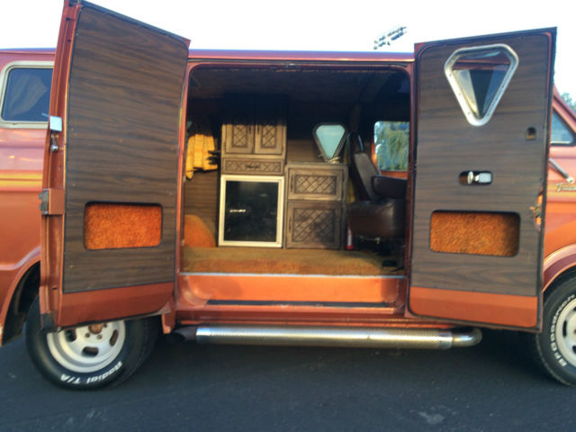 1975 dodge custom van 70s california survivor tradesman 200 daily driver classic dodge other. Black Bedroom Furniture Sets. Home Design Ideas