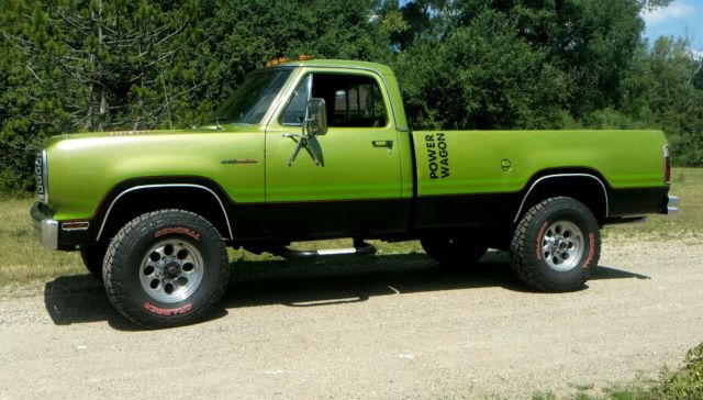 1975 Dodge Power Wagon W200 Classic Dodge Power Wagon