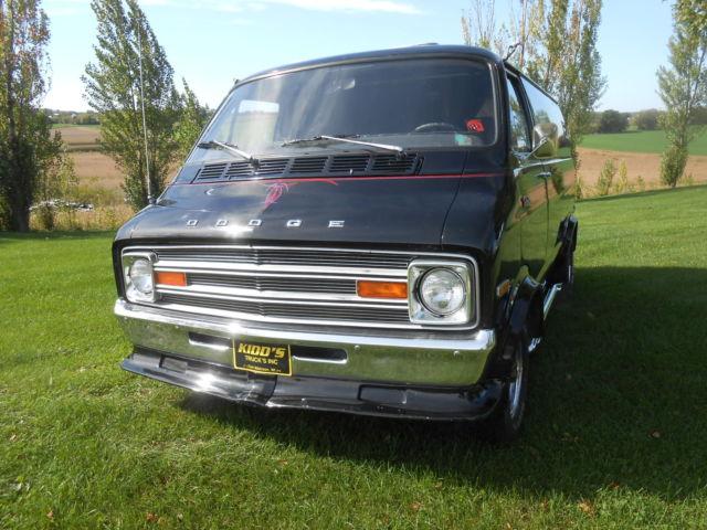 1975 Dodge Tradesman 200 Van Ram Love Van Classic Dodge