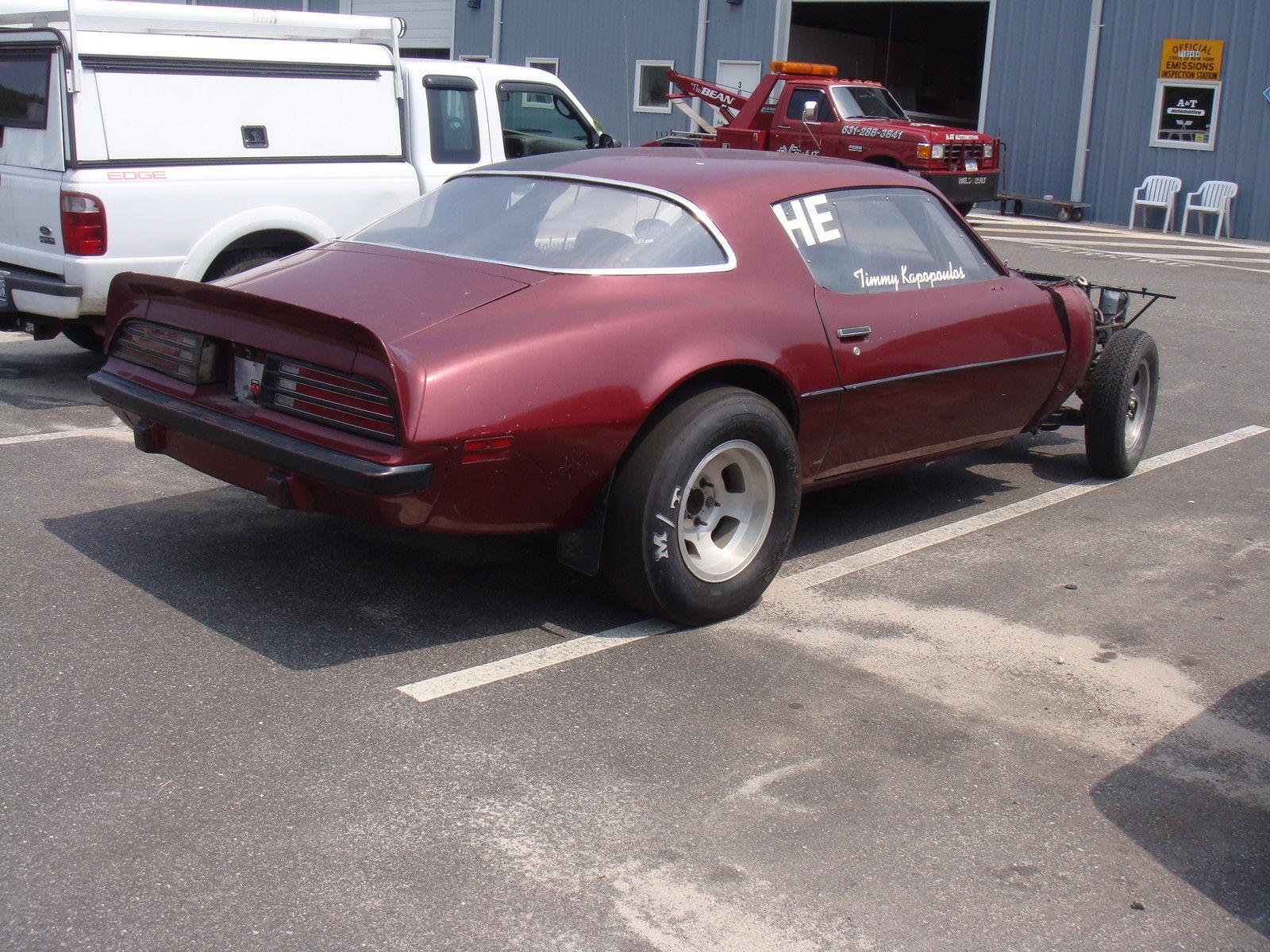 Pontiac Drag Race Cars For Sale