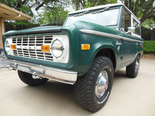 1975 ford bronco 4x4 302 v8 automatic classic ford bronco 1975 for sale. Black Bedroom Furniture Sets. Home Design Ideas