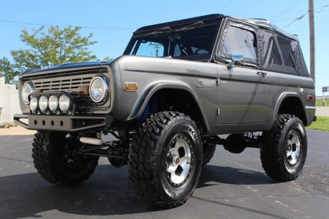 Lmc Truck Ford >> 1975 FORD BRONCO 4X4, RESTO-MOD, SPRING 2016 LMC CATALOG FEATURE COVER TRUCK! - Classic Ford ...