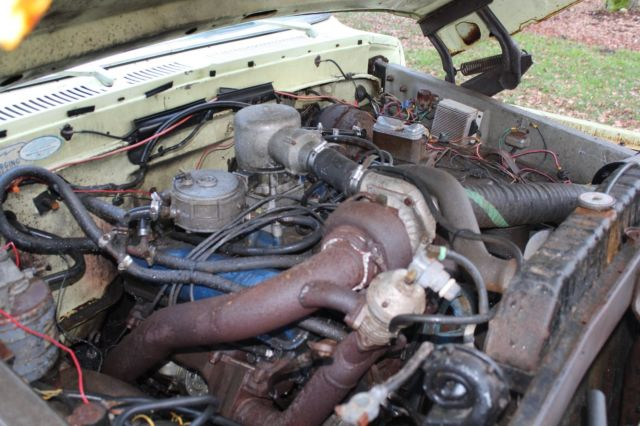 1975 Ford F 250 Extended Cab Turbo Charged Propane Engine