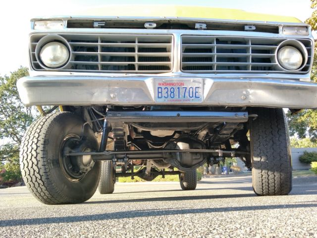 1975 Ford F250 4x4 Crew Cab Highboy Excellent Condition ...