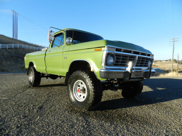 1975 ford f250 4x4 highboy very nice rare classic 50 pics. Black Bedroom Furniture Sets. Home Design Ideas