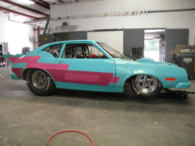 1975 FORD PINTO DRAG CAR - Classic Ford PINTO 1975 for sale