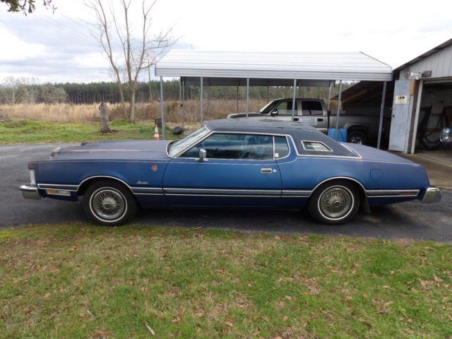 1975 Ford Thunderbird Hardtop 2-Door coup 7 5L 460 ci 4 barrel 750