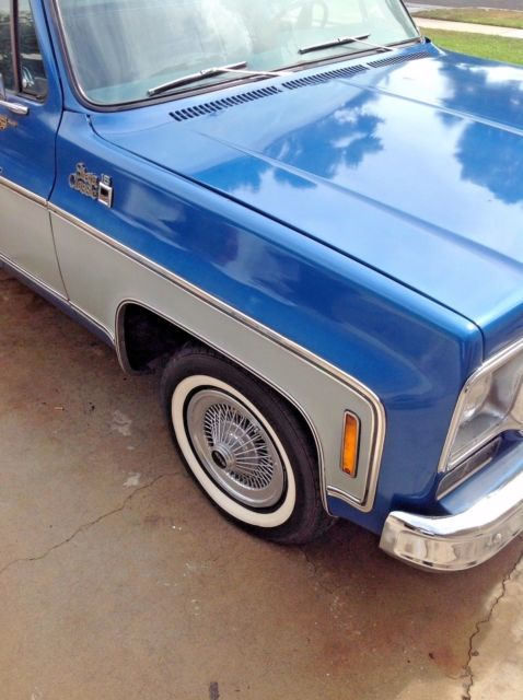 1975 Gmc Beau James 454 Big Block Short Bed Fully Documented C10 C15 Square Classic Gmc Sierra 1500 1975 For Sale
