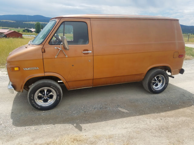 1975 Gmc Vandura Shorty Short Chevy Van Panel Hot Rat Rod