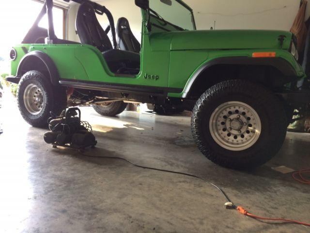Amc Classic Quincy 6 >> 1975 Jeep CJ-6 (Rare) Frame-Off Restoration - Classic Jeep CJ 1975 for sale