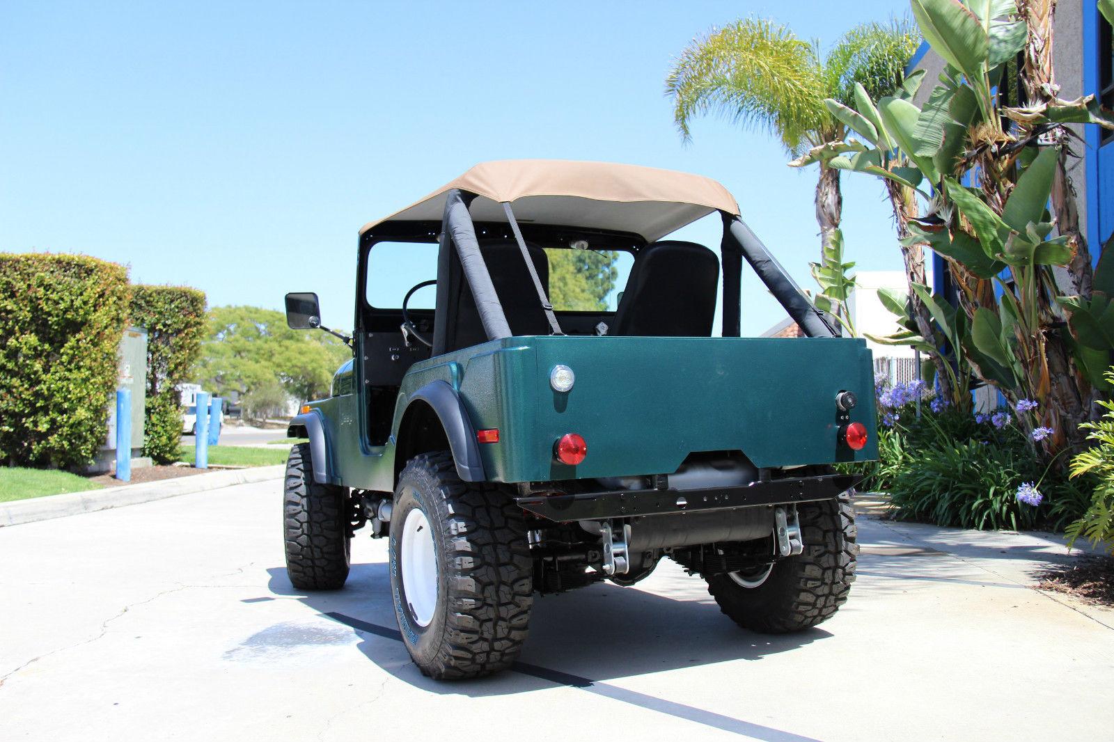 1975 Jeep Cj5 Restored Classic Cj For Sale Cj7 Wiring Restoration