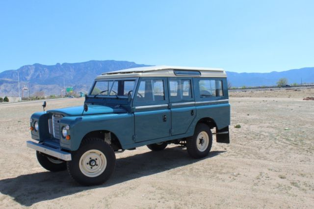 Used Cars Albuquerque >> 1975 Land Rover, Series 3, 109 Station wagon, 5 doors ...