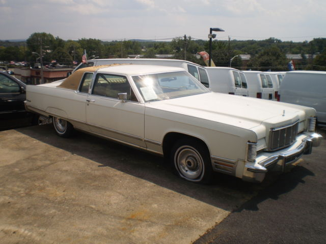 1975 Lincoln Continental Town Coupe ALL ORIGINAL LOW MILES ...