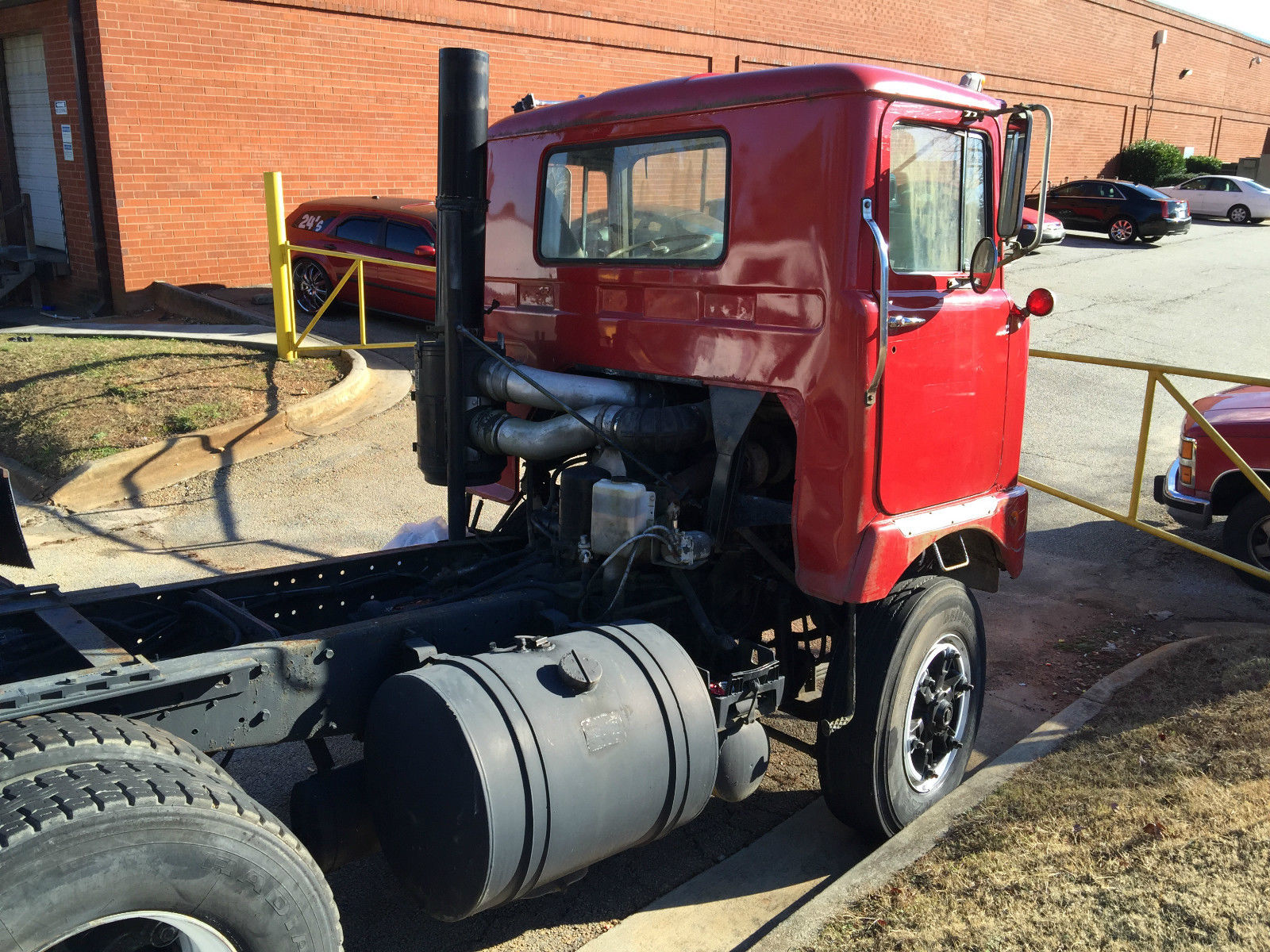 mack f model cabover for sale