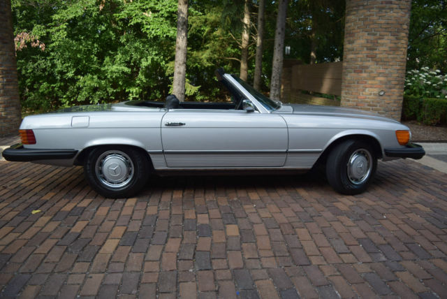 1975 mercedes 450sl convertible 4 5l v8 leather sony hard for 1975 mercedes benz 450sl convertible