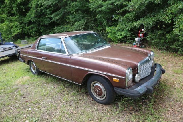 1975 mercedes benz 2 door 280 c parts car classic for Aftermarket parts mercedes benz