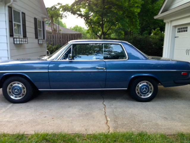 1975 mercedes benz 280c base coupe 2 door 2 8l classic for Mercedes benz 2 door coupe for sale
