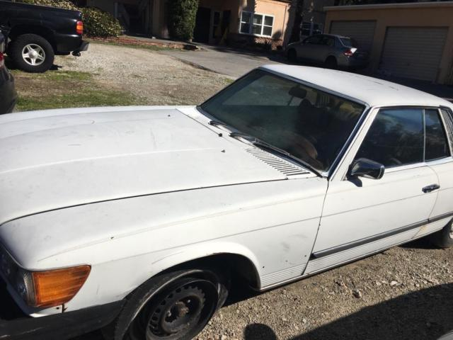 1975 mercedes benz slc great restoration project car is for Mercedes benz southern california