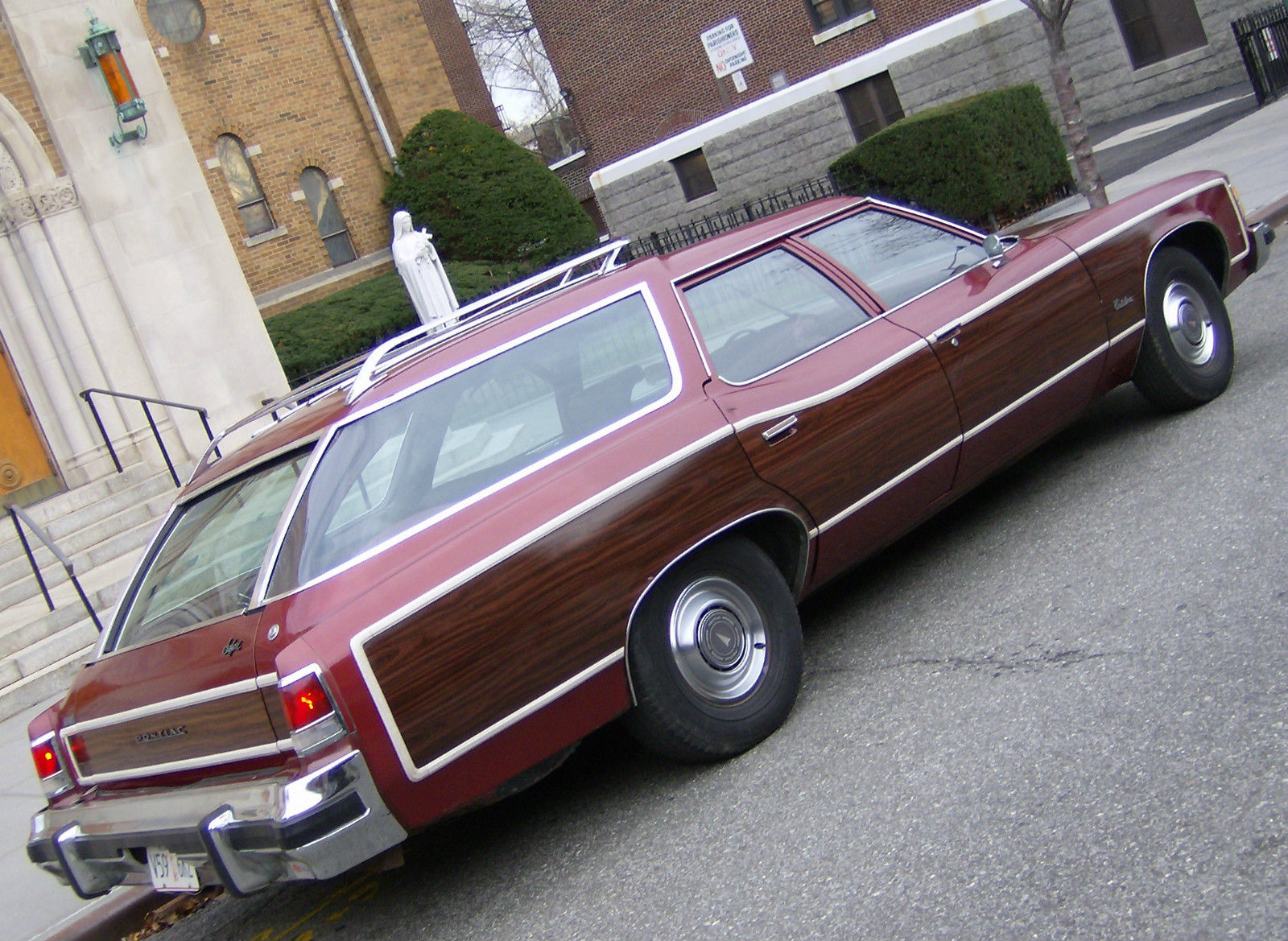 1975 Pontiac Catalina Safari Woody Wagon 35K Original ... |1975 Catalina Station Wagon Buick