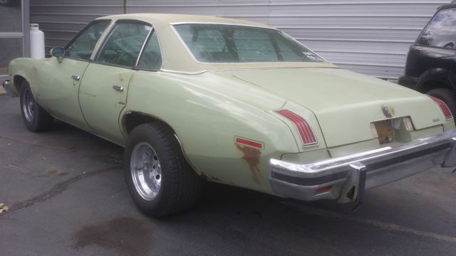 1975 Pontiac Lemans Le Mans 4 Door Sedan 80k Miles Nice