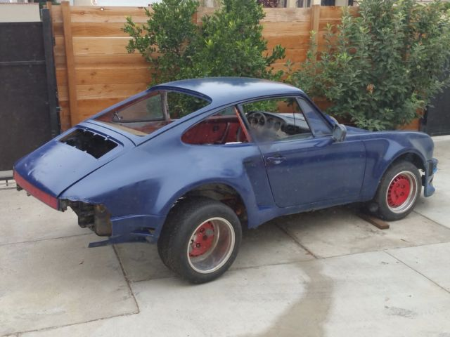 1975 porsche 911s widebody coupe rsr wide body 911 project. Black Bedroom Furniture Sets. Home Design Ideas