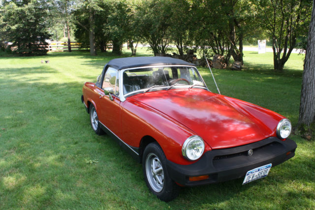Illegitimately red mg midget See