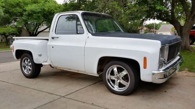 chevy stepside truck 1975