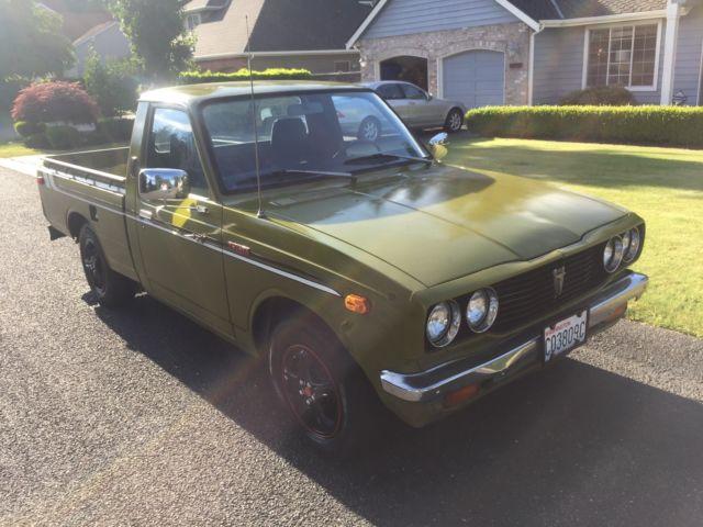 1975 Toyota Hilux Pickup Sr5 20r Original Owner 61k Actual