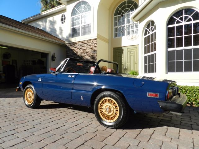 1976 alpha romeo spider classic alfa romeo other 1976 for sale. Black Bedroom Furniture Sets. Home Design Ideas