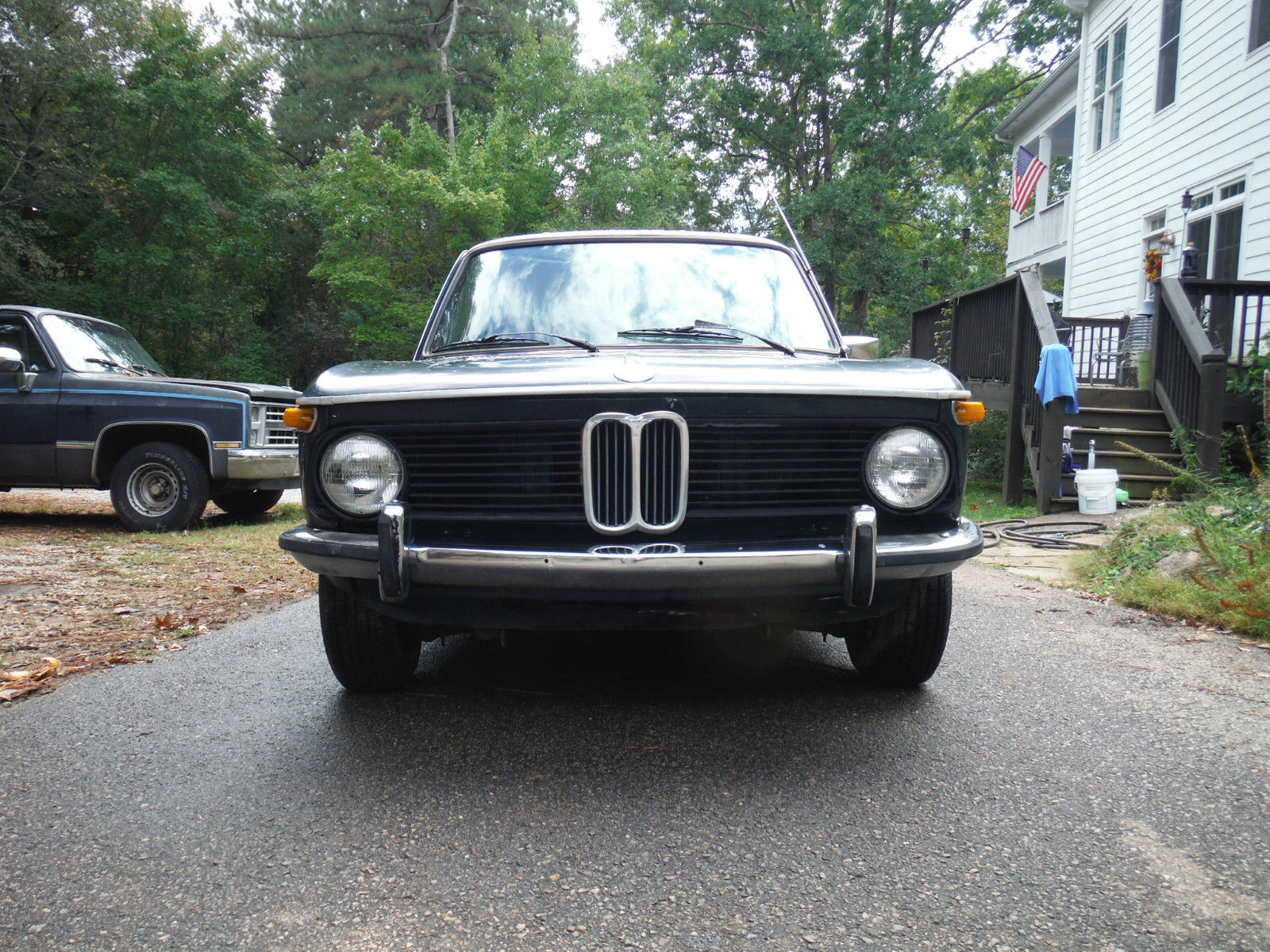 1976 Bmw 2002 4 Speed No Sunroof For Parts Or Restoration