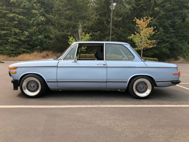 1976 Bmw 2002 Euro Bumpers Bbs Wheels Classic Bmw 2002 1976 For Sale