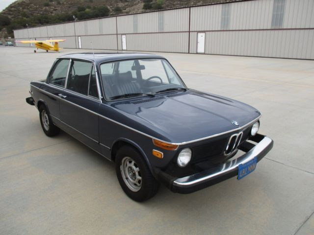 1976 bmw 2002 numbers matching rust free ca car not tii. Black Bedroom Furniture Sets. Home Design Ideas
