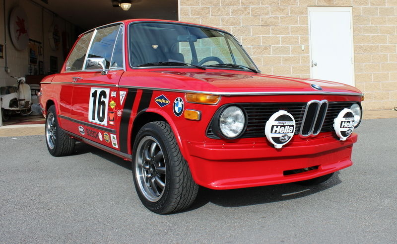 Cars For Sale In Virginia >> 1976 BMW Red 2002 Custom Classic Performance Upgrades NOS Parts Dual Webers - Classic BMW 2002 ...