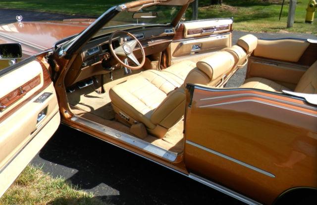 1976 Cadillac Eldorado Convertible Amberlite Firemist With