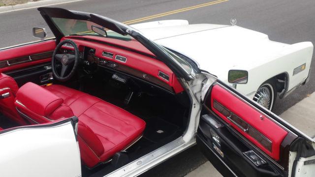 1976 Cadillac Eldorado Ice Cold A C Full Power New Interior Top Glass Window Classic Cadillac