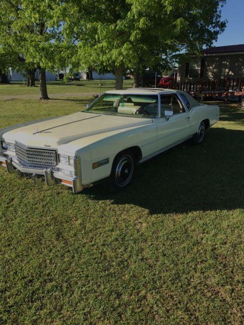 1976 Cadillac Eldorado Rare Hardtop Sun Roof Classic