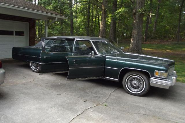 brougham factory limousine classic cadillac fleetwood 1976 for sale. Cars Review. Best American Auto & Cars Review