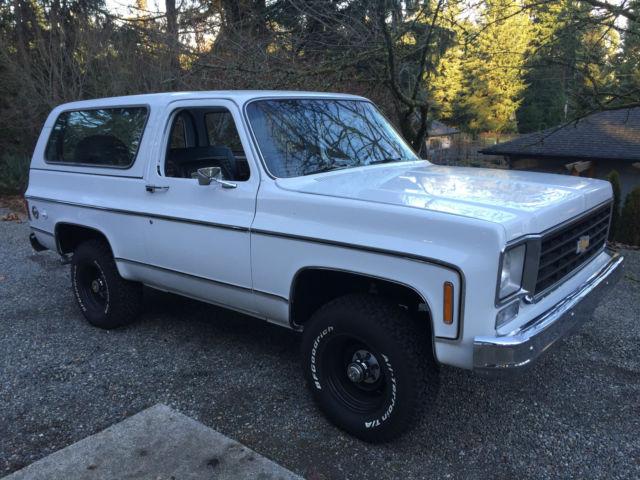 1976 Chevrolet K5 Blazer 4x4 350 V8 Automatic Fresh Paint
