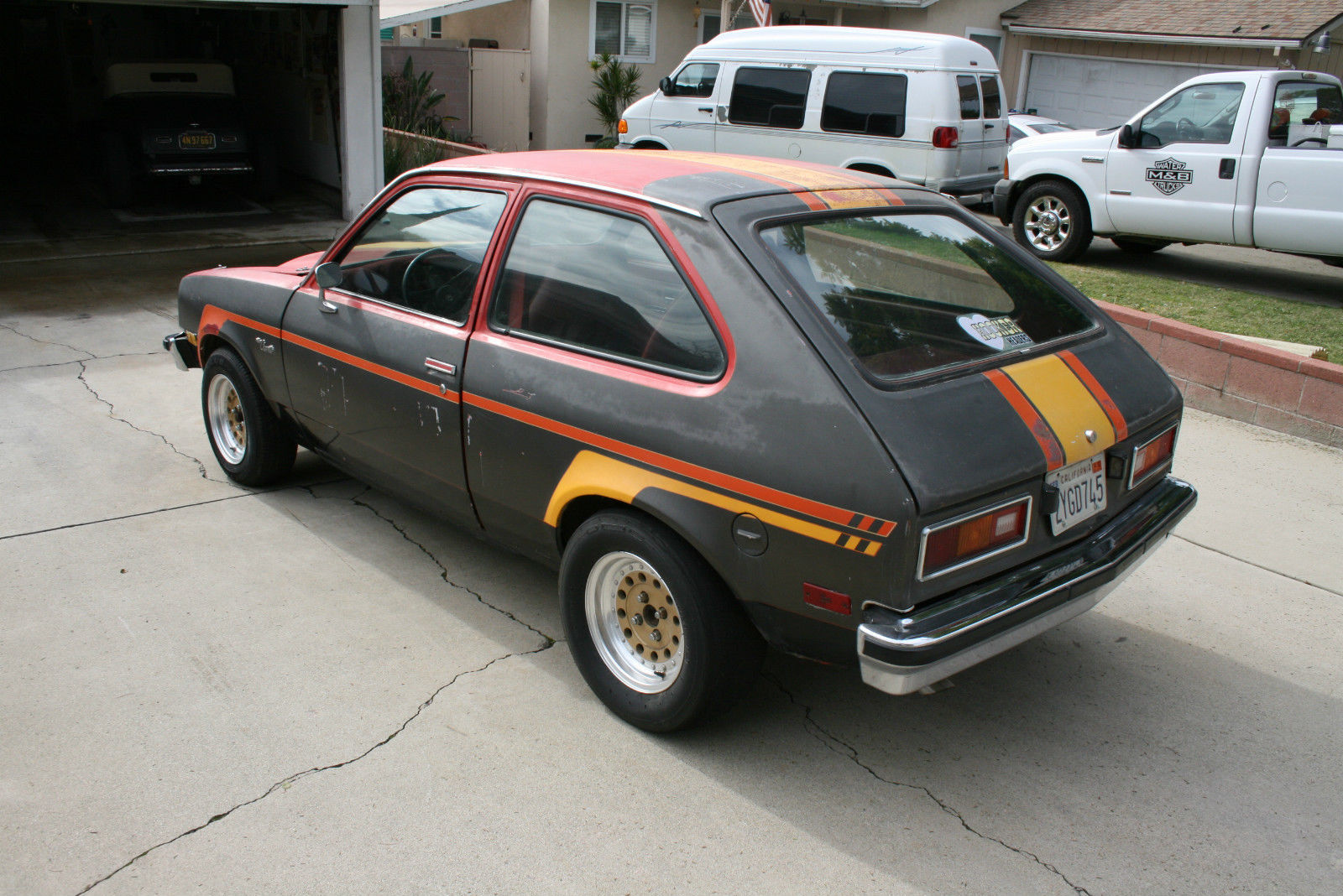 1976 Chevy Chevette Hooker Headers Project Car Hot Rod