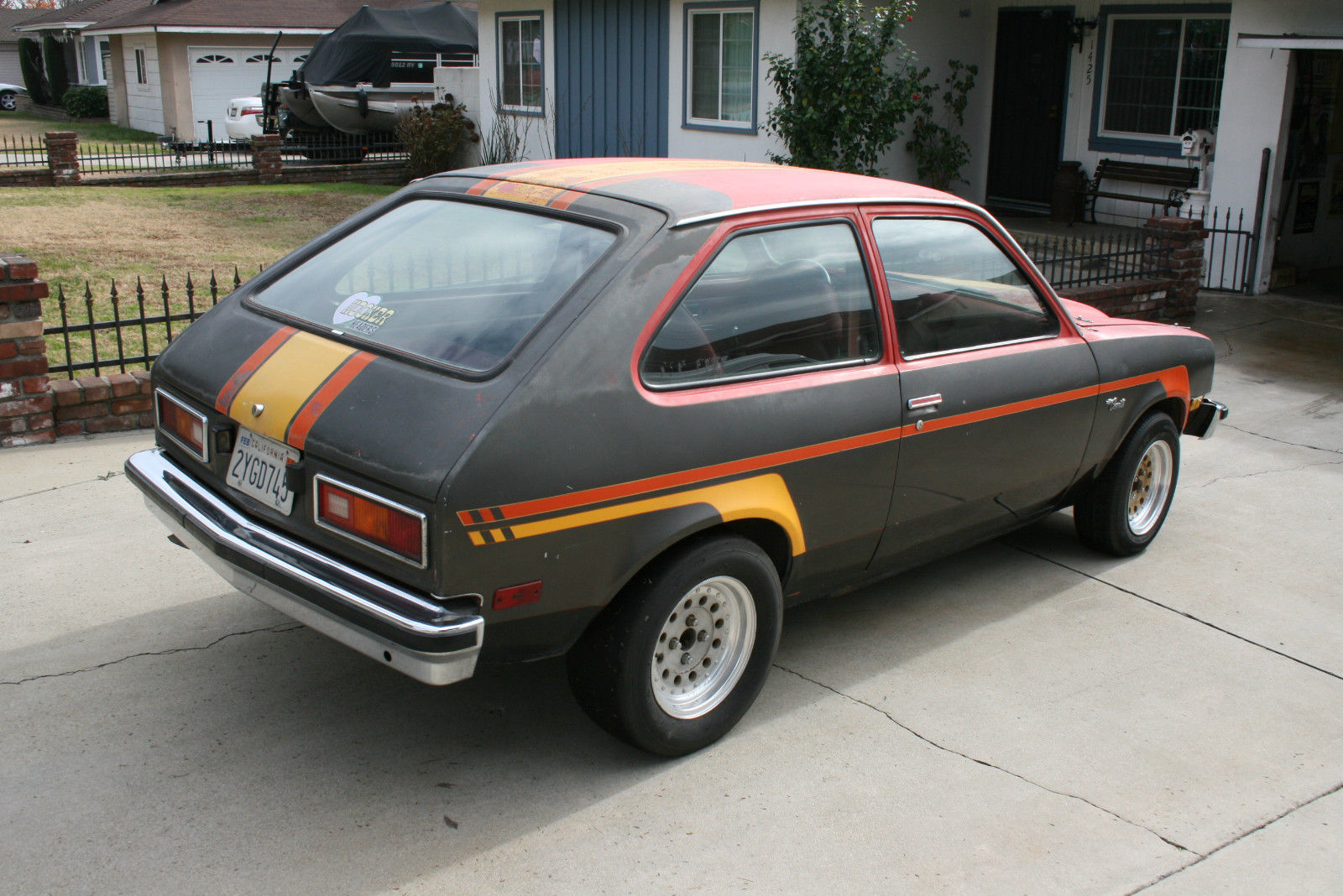 1976 Chevy Chevette Hooker Headers Project Car Hot Rod ...