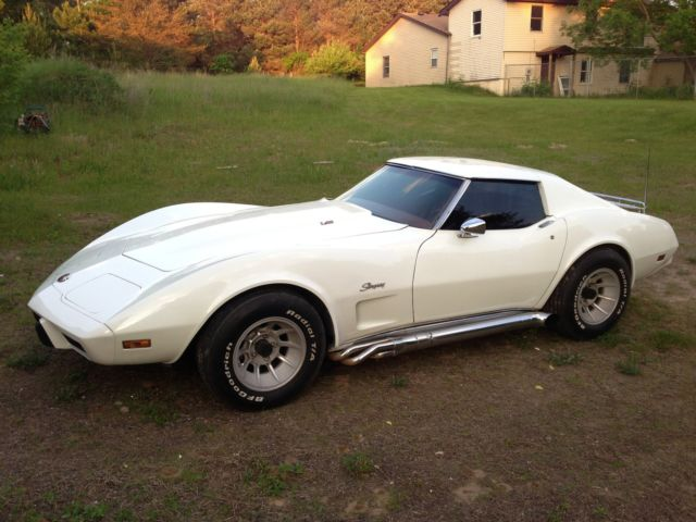 1976 Chevy L 82 Corvette Stingray 350 T Top Hooker Sidepipes Leather Interior Classic