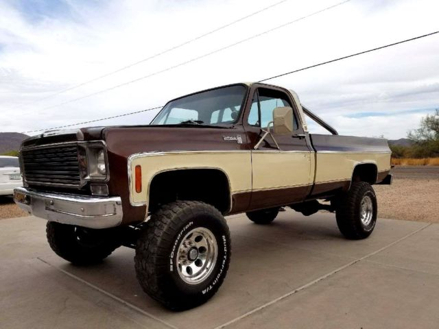 1976 chevy scottsdale 20 4x4 3 4 ton arizona truck super nice truck 76 classic chevrolet other. Black Bedroom Furniture Sets. Home Design Ideas