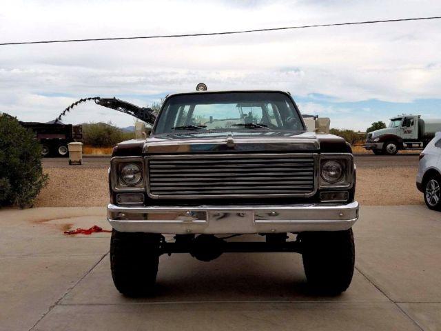 1976 CHEVY SCOTTSDALE 20 4X4 3/4 TON ARIZONA TRUCK SUPER ...